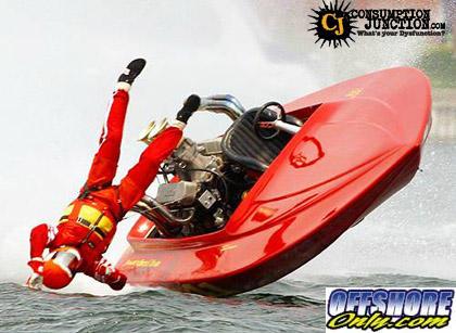 Wild boat crash photo page 2 offshoreonly wild boat crash photo gonna hurtg sciox Gallery