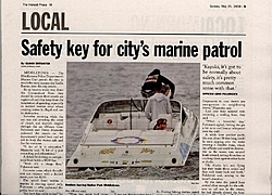My boat made the paper this weekend-memorialpicnick2.jpg