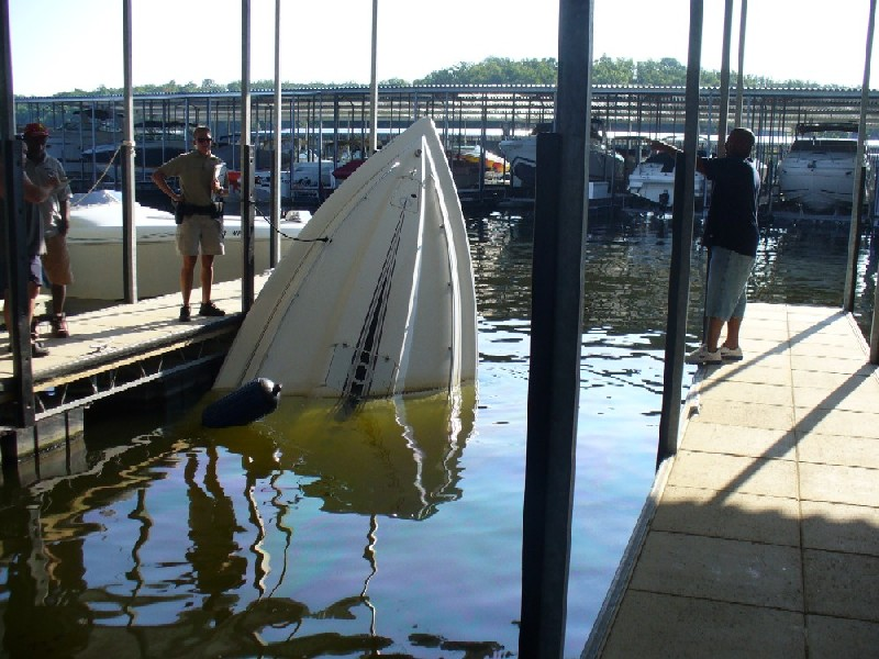 how to put in a dock