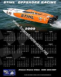 Custom Calendars are posted at freeze frame-stihl.jpg