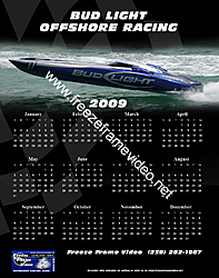 Custom Calendars are posted at freeze frame-budlight.jpg