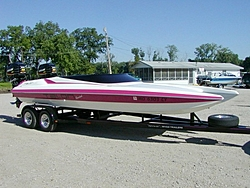Went for a ride in a 26 Redline today. What a ride.-boatntrailer.jpg