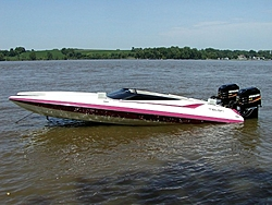 Went for a ride in a 26 Redline today. What a ride.-inwater.jpg