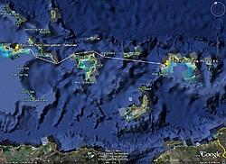 Bobthebuilder's next adventure - Part 1, Ft Lauderdale to Turks & Caicos-georgetown-ba-provo-t-c-north-route-.jpg
