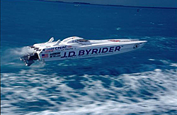 Who has tried a ex race canopy cat as poker run pleasure boat-jd-bryrider-flying.jpg