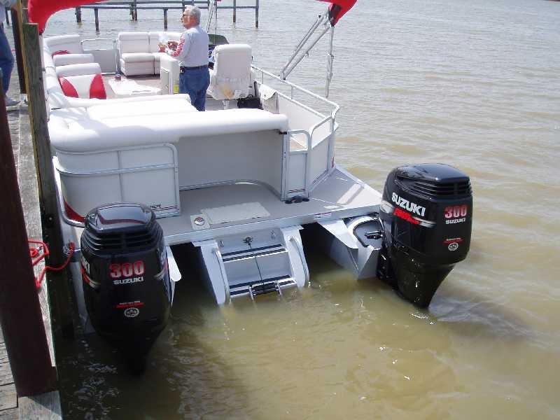 Who Makes A Hi-perf. Twin Outboard Engine Pontoon - Page 2 ...