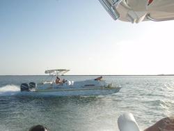 100 mph PlayCraft Pontoon Shatters World Record-tim-pontoon.bmp