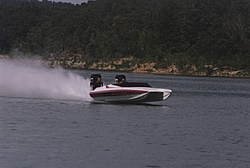 External hull mounted water pickup for a triple outboard cat-running.jpg