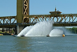You pick!  Which boat throws the meanest Rooster Tail?-3jetsracingatbridge.jpg