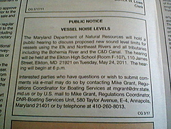 Warning!!! Upper Chesapeake Bay Boaters - Hearings on new sound level limits-md-boat-hearing-5-24-11.jpg