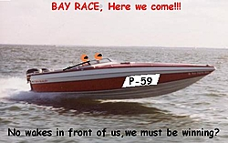 Smallest Performance Offshore w/twins?-checkmate1bayrace.jpg