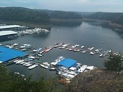 Lake Cumberland Poker Run Roll Call-lcprboatsfrompoint2011.jpg
