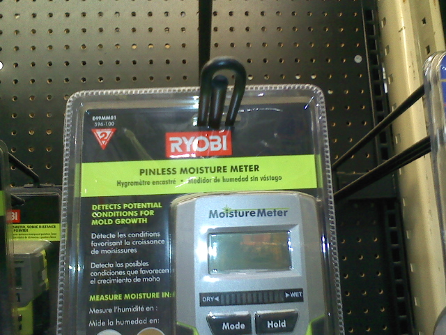Moisture Meter At Home Depot