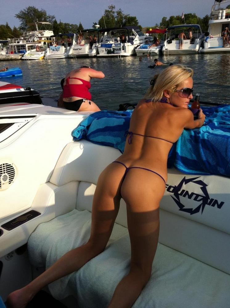 Ass On Boat 13