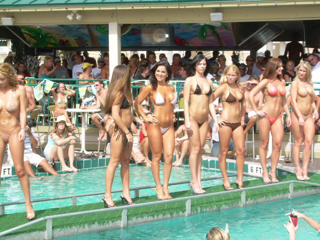 Shooters bikini contest not