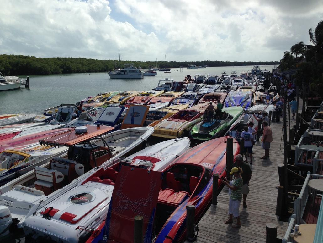 Miami boat show pr pics onsite - Miami boat show ...