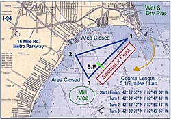Looking for info on Lake St. Clair, MI-course_map2002.jpg