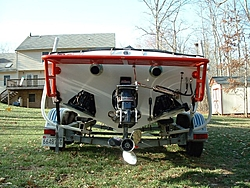 Anyone running external steering on a single engine V-bottom WITH K-planes?-transom.jpg