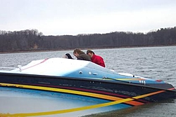 First Run On Lake Mich 2004 Nauti Kitty at it again (Pics)-0-ramp.jpg