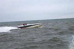 First Run On Lake Mich 2004 Nauti Kitty at it again (Pics)-0-idleing-.jpg