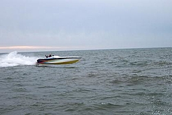 First Run On Lake Mich 2004 Nauti Kitty at it again (Pics)-0-flying.jpg
