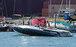 Boat sinks at Indy Poker Run!  No injuries!!-oldboatoso.jpg