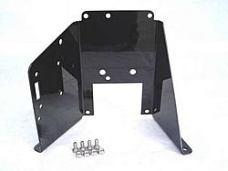 Martiniboat now offers stainless trim pump brackets in colours!-trim-pump-bracket-black.jpg