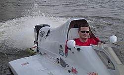 Pics of OSO member Drag120 on the Grand River Wed. evening.-me-seat.jpg