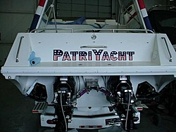 Take a look: New custom made 2005 28' Pantera Single in the works-back-boat.jpg