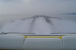 Went out on Lake Michigan tonight with Rambunctious and MitchStellin... awsome night!-robs-wake-small-.jpg