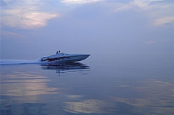 Went out on Lake Michigan tonight with Rambunctious and MitchStellin... awsome night!-mitch-dusk1-small-.jpg