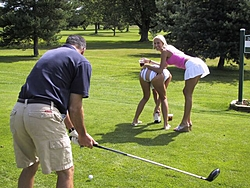 It was cold so we Golfed w/the Hooters Girls-distraction1.jpg