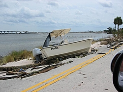 Hurricane aftermath from Stuart FL-washed-out-road-boat2.jpg