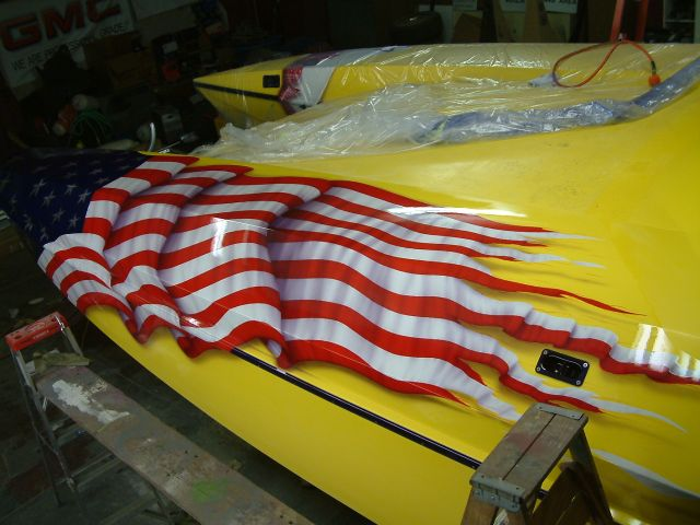 American Flag Hull Decals Offshoreonlycom - Hull decals