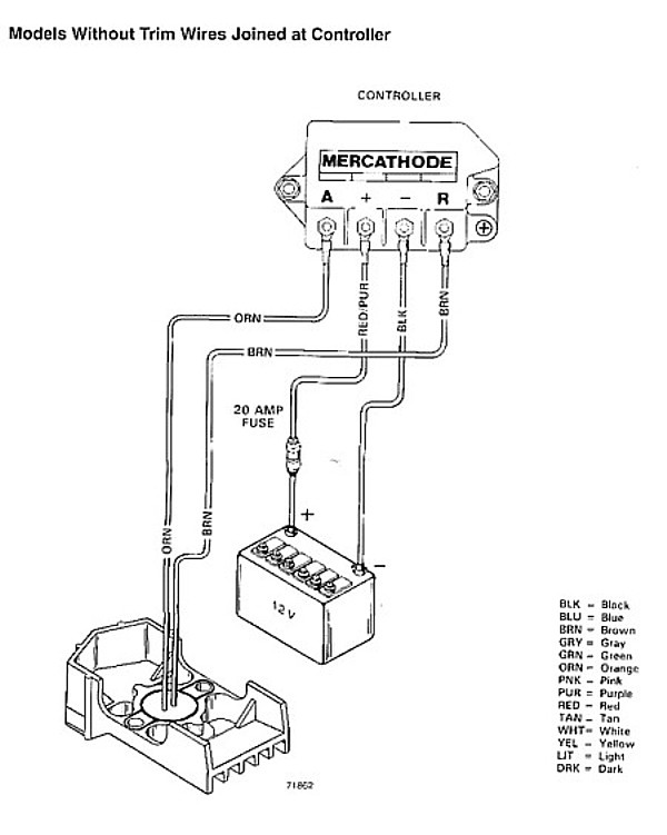 mercathode wiring diagram