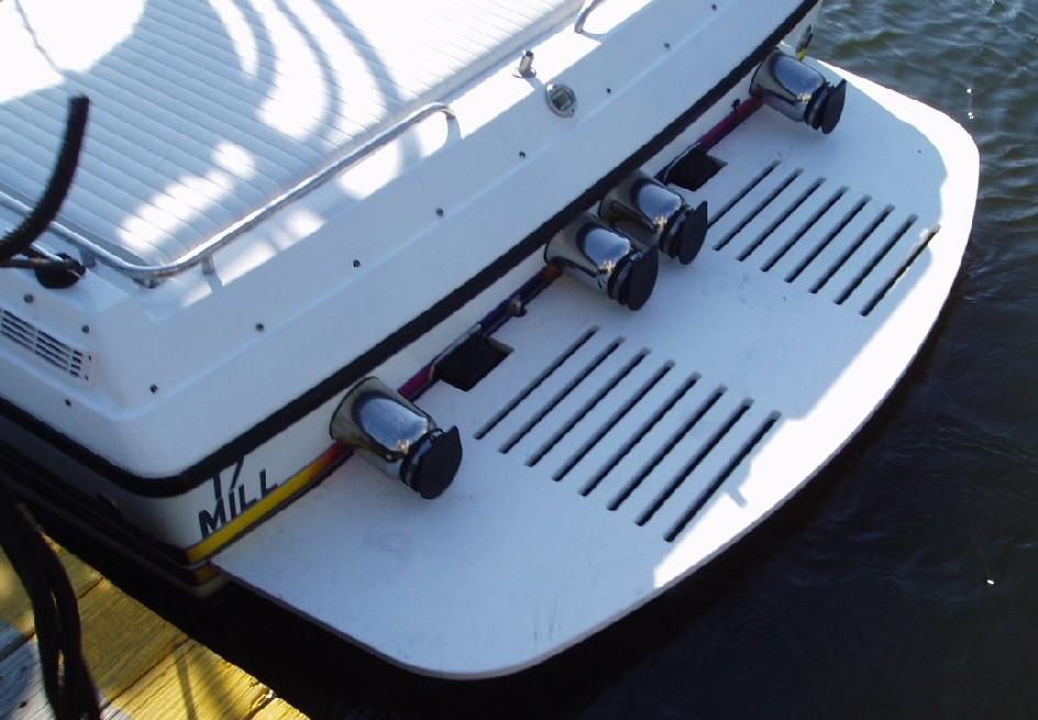 Metal tube style swim platforms - Offshoreonly com