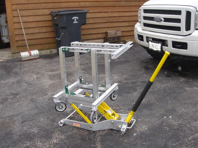 Outdrive Stand And Lift Homemade No Welding Offshoreonly Com