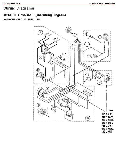 Mercruiser Wiring Diagram-source