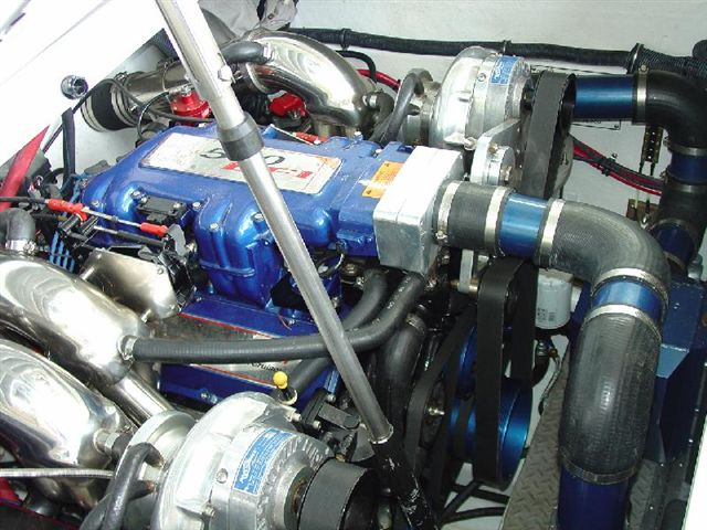 Adding a procharger to a 300hour hp500efi ? - Offshoreonly com