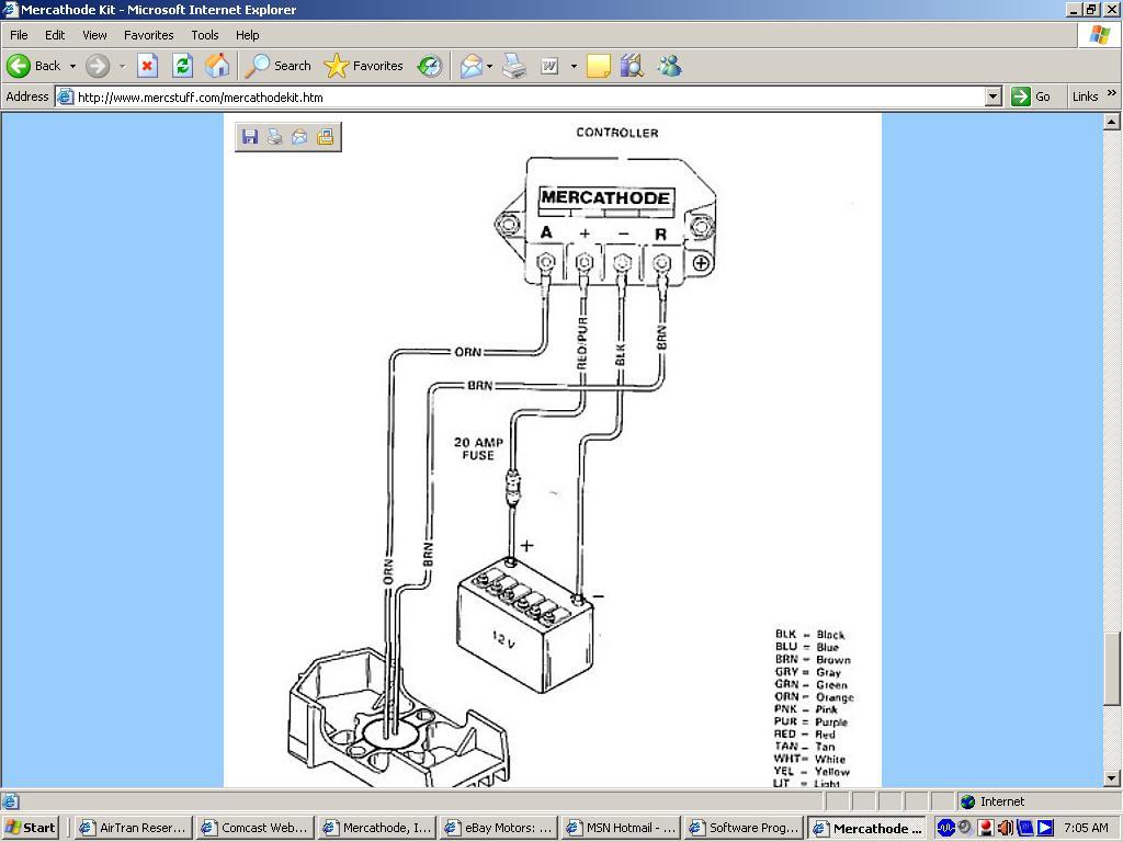 mercathode, is it required? offshoreonly com Mercathode System Wiring Diagram mercathode kit for mercruiser (r mr