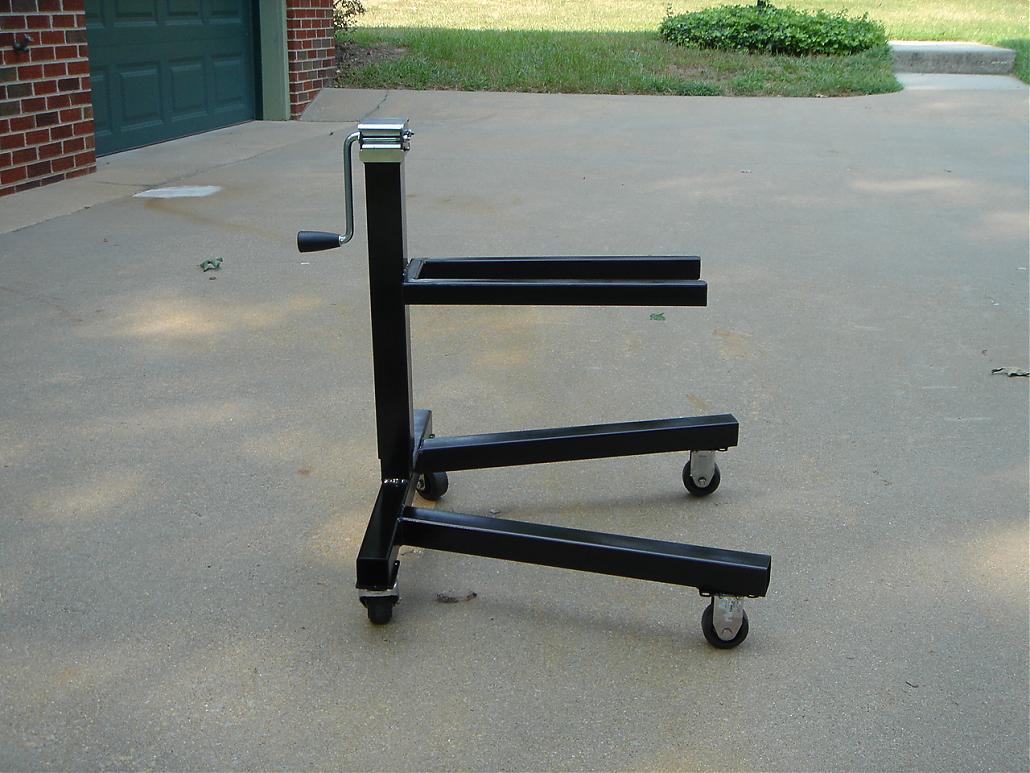 Outdrive Stand And Lift Homemade No Welding Page 3