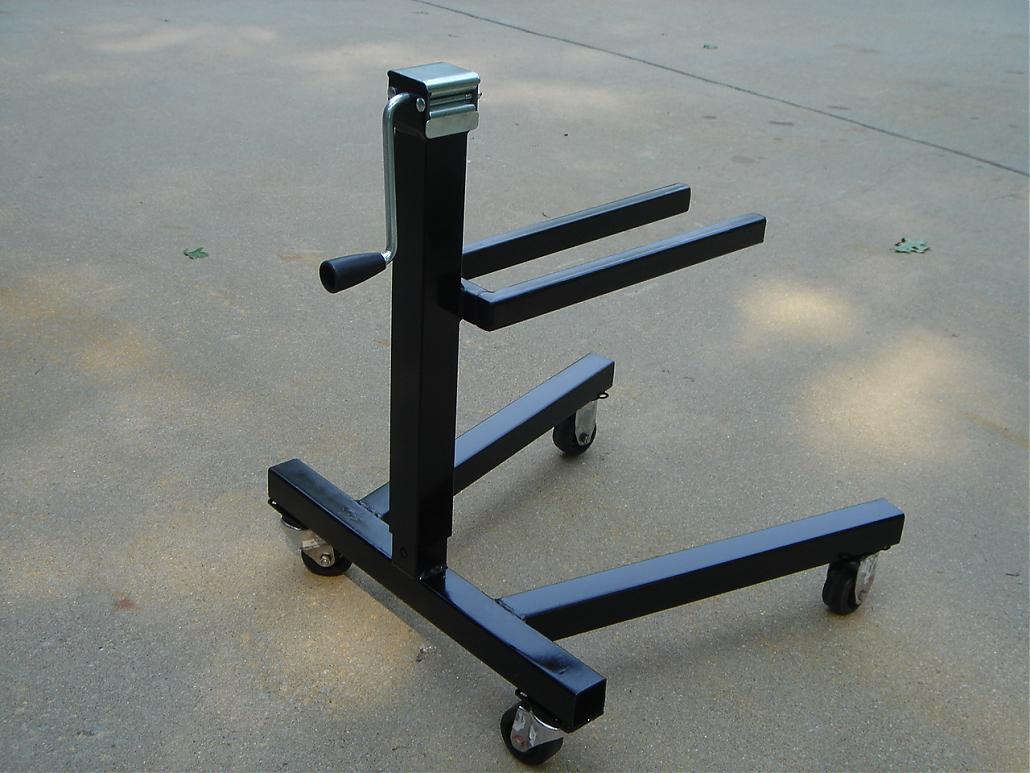 Outdrive stand and lift homemade no