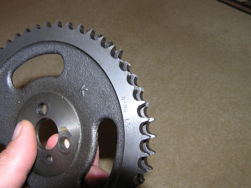 20 teeth broken off of my cam gear!! - Offshoreonly com