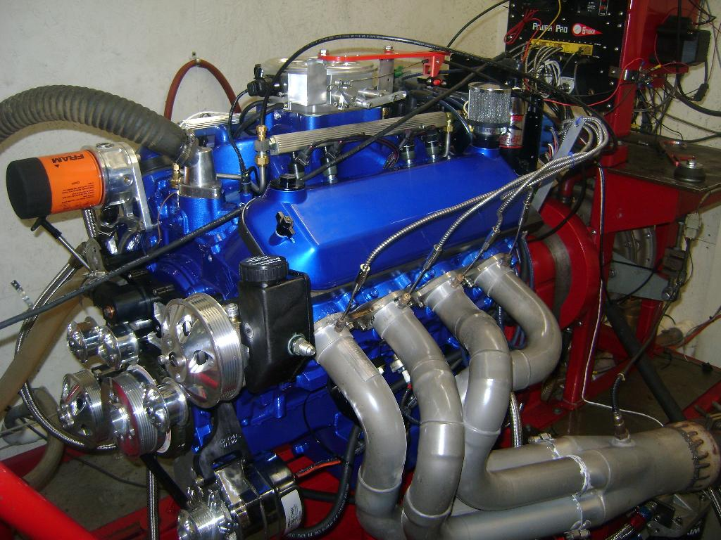 Custom engine paint for Ford motor paint colors