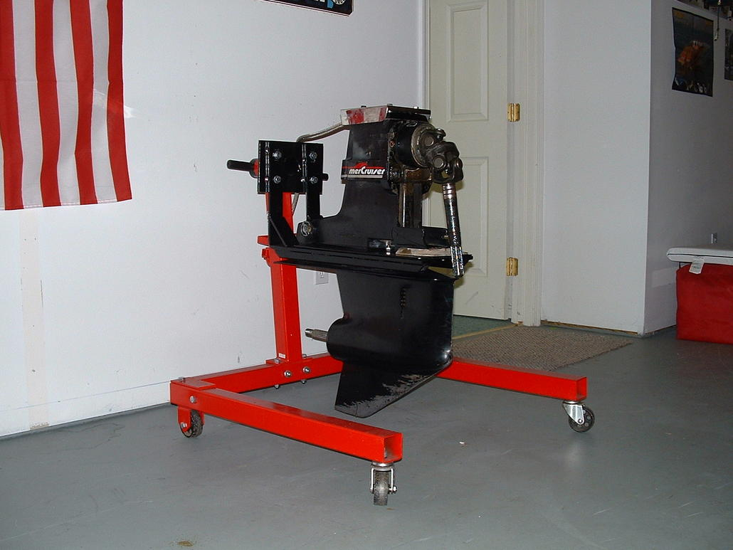 Outdrive Stand And Lift Homemade No Welding Page 9