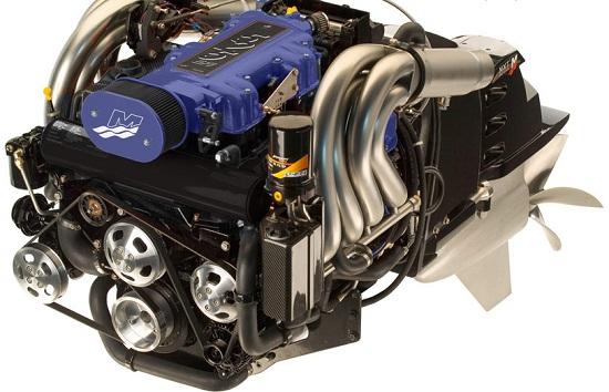 D New L Mercruiser Engine Mercruiser Hp on Bad Fuel Filter