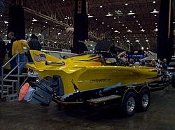 """New One Design """"Team Underdog"""" Boat on display at Cleveland Boat Show-cleveland-show-behind-good.jpg"""