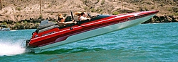 Let's see some pics of those Lavey's!-daves-boat-airtime.jpg