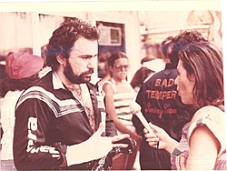 Pantera pics. from the early days ( History )-dad-being-interviewd.jpg
