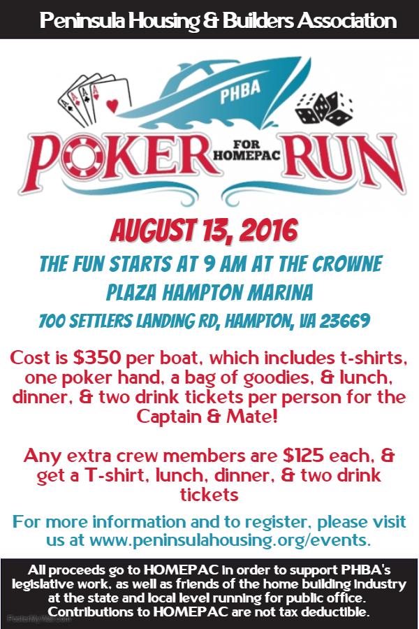 Poker Run Flyers Casino Portal Online
